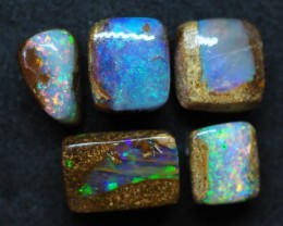9.95CTS VIEW PIPE WOOD REPLACEMENT BOULDER OPAL (Parcel)  TT388