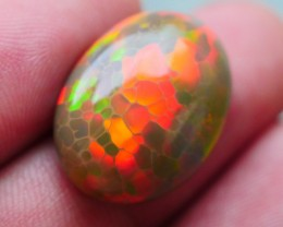 12.00 CRT PERFECT DARK BASE 3D HONEYCOMB RED NEON WELO OPAL-