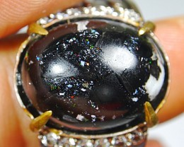 55.00 CT Beautiful Indonesian  Opal Ring Jewelry