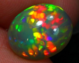 2.20ct Rainbow Cell  Ethiopian Welo Solid Opal