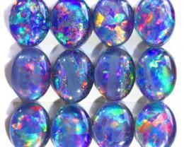 17.16Cts 12 Parcel  Top Gem Grade Triplet Opals  WS 500