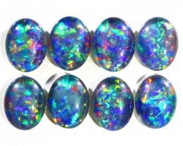 11.12Cts 8 Parcel  Top Gem Grade Triplet Opals  WS 502