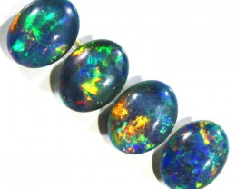 5.15Cts 4Pcs Parcel  Top Gem Grade Triplet Opals  WS 505