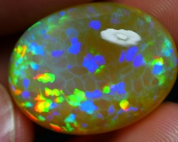 20.00 CRT AMAZING RAINBOW PRISM PUZZLE PATTERN WELO OPAL-
