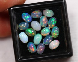 Lot 10 ~ 4.95Ct Natural Ethiopian Welo Opal Lot 6x4.1mm