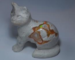 Mexican Matrix Fire Opal Cat