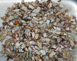 Australian Coober Pedy Rough Opal Beginners Parcel Small Stones (3351)