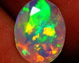 1.70 CT 5/5 BRIGHTNESS AAA Faceted Cut Ethiopian Opal - AE540