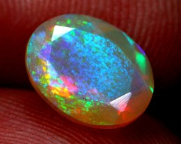 Lot 01 ~  1.26Ct Fish Scale Pattern Natural Ethiopian Welo Opal