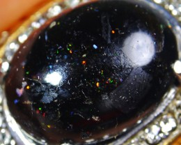 63.40 CT Beautiful Indonesian Pin Fire Opal Ring Jewelry