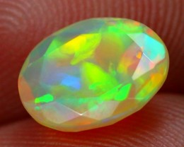 Lot 15 ~ 1.20Ct Patchwork Pattern Ethiopian Welo Faceted Opal