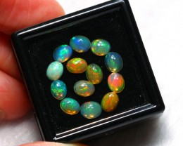 2.76cts 5x4mm Ethiopian Welo Opal Lot
