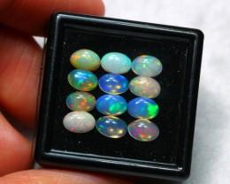3.89cts 6x4mm Ethiopian Welo Opal Lot