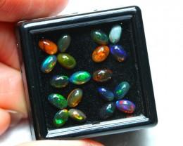 2.59cts 5x3mm Ethiopian Welo Smoked Opal Lot