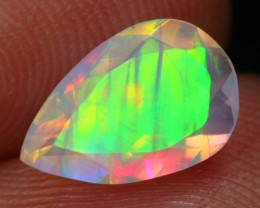 Lot 06 ~ 1.15Ct Bamboo Grasess Shimmering  Faceted Welo Opa