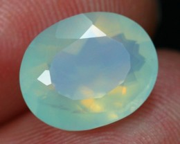 Black Friday Offer 2.67Ct Natural Excellent Luster Peruvian Blue Opal