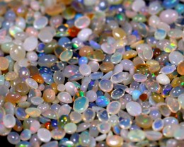 150cts Natural Mix Size Ethiopian Welo Solid Opal Lot