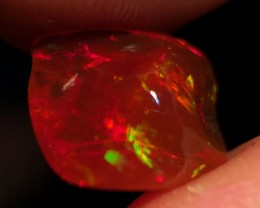 BLOOD RED Mexican 4.2ct Crystal Opal (OM)
