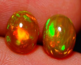 9X7 MM AAA QUALITY ETHIOPIAN CRYSTAL OPAL PAIR -AE799