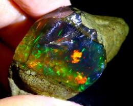 128ct Ethiopian Crystal Rough Specimen Rough