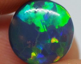 2.55CT SOLID LIGHTNING RIDGE BLACK OPAL   NN21