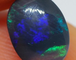 1.85CT SOLID LIGHTNING RIDGE BLACK OPAL   NN26