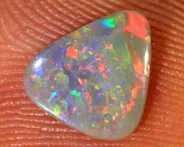 0.45ct 8x7mm Solid Lightning Ridge Dark Opal [LO-1274]