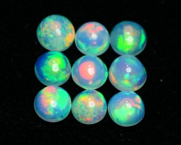 2.75 CRT BRILLIANT 9 PCS PARCELS BEAUTY MULTICOLOR WELO OPAL-