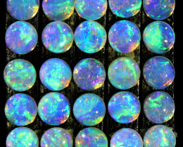 2.33CTS 25 PIECES CALIBRATED OPAL PARCEL GREAT COLOR PLAY- S1060