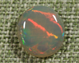 0.85ct -YOUNG RAINBOW SNAKES- Lightning Ridge Opal [20494]