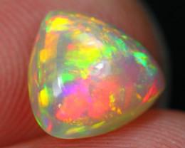 Lot 07 ~ 1.74Ct Metallic Rainbow Broadflash Ethiopian Welo Opal
