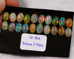 10.33cts Ethiopian Welo Opal Lot Parcel