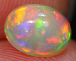 Lot 11 ~ 1.07Ct Rainbow Chaff Fire Ethiopian Welo Opal