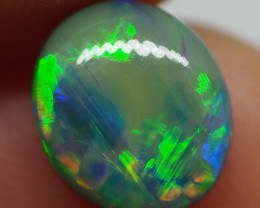 2.0CT GEM QUALITY BLACK OPAL DOUBLET  NN137