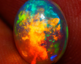 1.26 CT  Galaxy Pattern !!AAA Quality Welo Ethiopian Opal - AE763