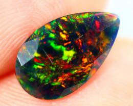 1.20ct TOP 5/5 Natural Ethiopian Welo Black Opal