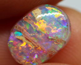 1.40CT VIEW PIPE WOOD REPLACEMENT BOULDER OPAL RE349
