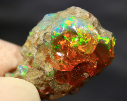 Cts 36.0   FC4    .Rough Ethiopian Wello Opal   ~ Specimen -