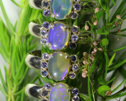65.50 CTS PARCEL DEAL OF SOLID OPAL AND TANZANITES [SOJ6544]