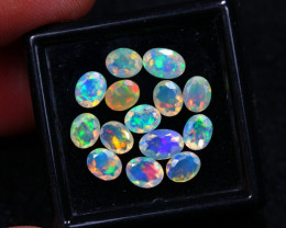 3.47Ct 5x4mm Faceted Ethiopian Welo Opal Lot C28/12