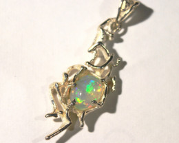 Pendant Silver 925 with Wello Opal Tot. Cts. 18    CV34