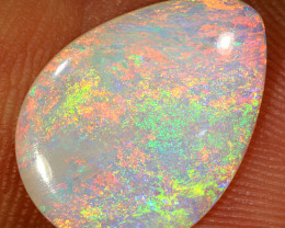 1.9ct 14.5x11mm Solid Lightning Ridge Crystal Opal [LO-1303]