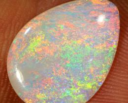 1.9ct 14.5x11mm Solid Lightning Ridge Crystal Opal [LO-1303]