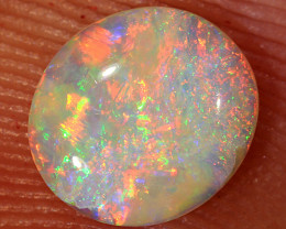 0.45ct 7x6mm Solid Lightning Ridge Crystal Opal [LO-1322]