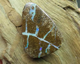 """25cts, """"BOULDER OPAL~FROM OUR MINER 2U"""""""