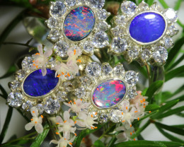 77.45 CTS PARCEL DEAL OF DOUBLET OPAL  RINGS [SOJ6579]