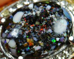 62.05 CT Rare Motif Indonesian Opal Jewelry