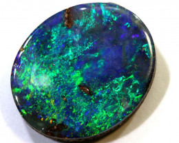 2.75-CTS QUALITY BOULDER OPAL POLISHED STONE  INV-1064