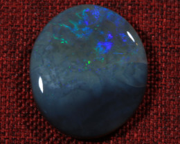 12.00ct -THUNDER AND LIGHTNING- Lightning Ridge Opal [20521]
