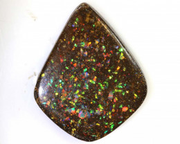16.90CTS -  BOULDER OPAL INLAY POLISHED STONE NC-5762